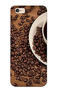 Christmas Day's Gift- New Arrival Cover Case With Nice Design For Iphone 6 Plus- Coffee Heart