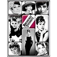 Nostalgic Art Audrey Hepburn Magnet Set