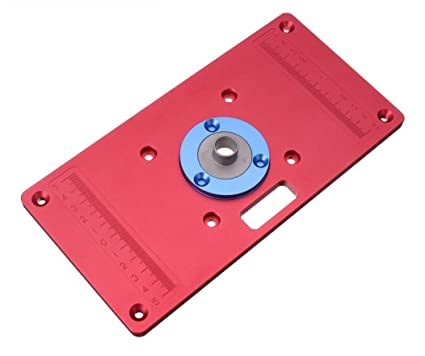 233x117x8mm aluminum router table insert plate for woodworking 233x117x8mm aluminum router table insert plate for woodworking benches router trimmer red ht1691 greentooth Image collections