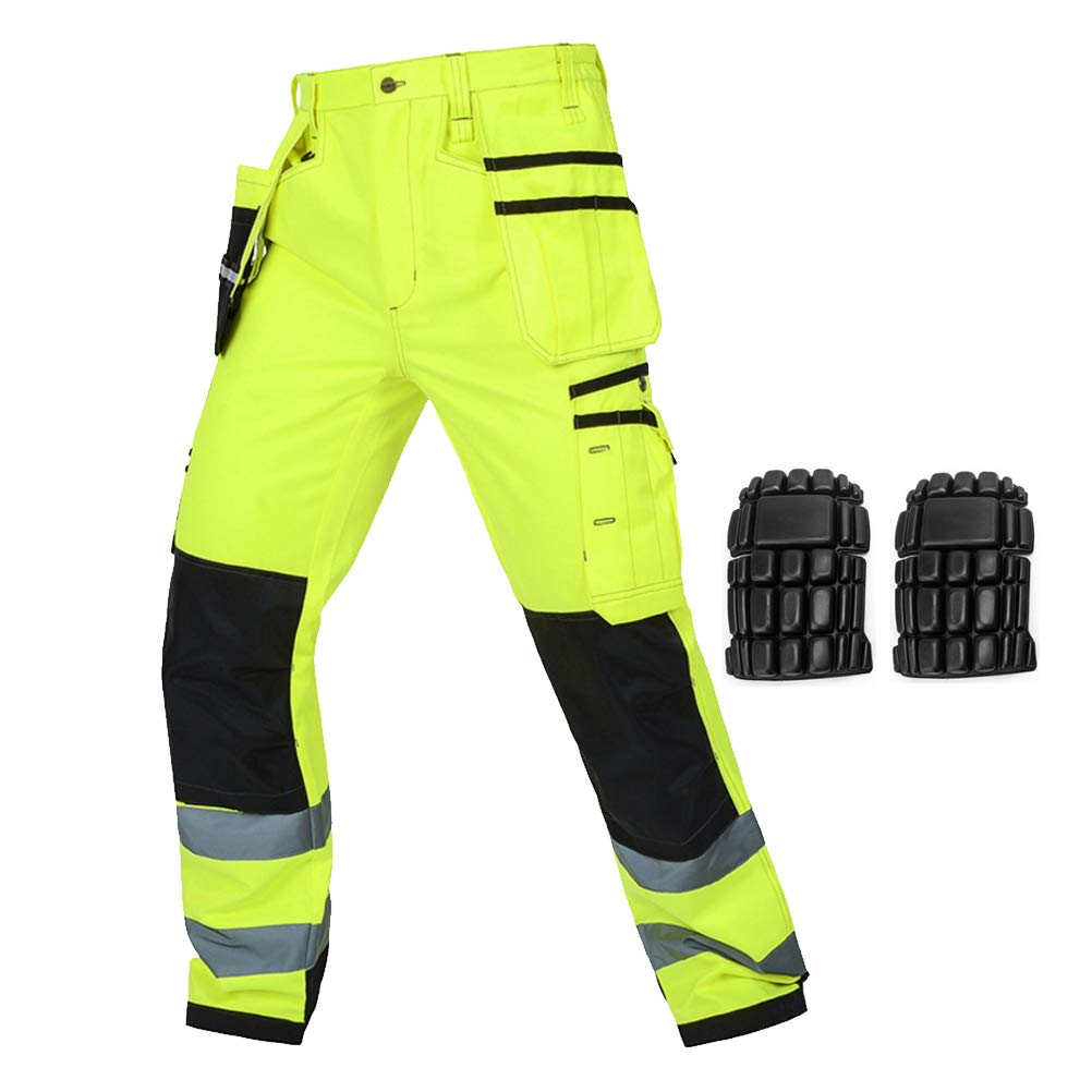 RESULT ACTION TROUSERS WORKWEAR CARGO KNEE PAD POCKETS SAFETY DURABLE UNISEX