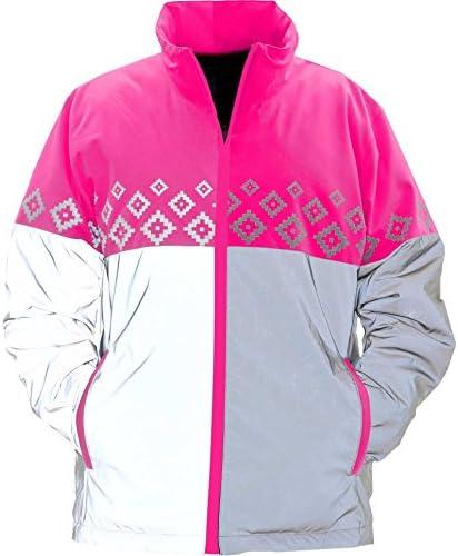 EQUISAFETY Luminosa 反射ジャケット スモール ピンク