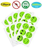 Bug Repellent Patches (120 Count)- Natural Mosquito Repellent Sticker