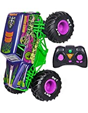 Monster Jam, Official Grave Digger Freestyle Force, Remote Control Car, Monster Truck Toys for Boys Kids and Adults, 1:15 Scale