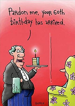Amazon.com: Tarjeta de 60 cumpleaños con texto en inglés ...