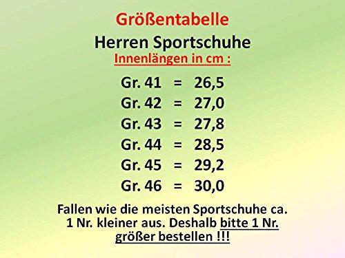 gibra - Zapatillas de running de sintético/textil para hombre Verde - verde/amarillo