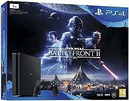 PlayStation 4 (PS4) - Consola 1 TB + Star Wars Battlefront