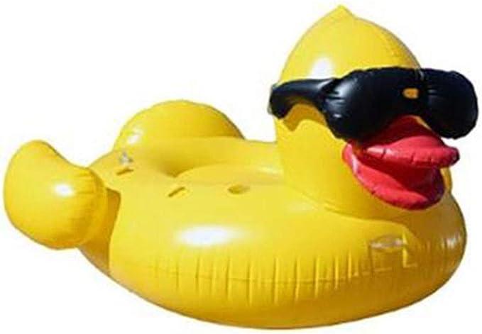 Floating raft Inflable Gigante Ruibarb Pato Flotante Fila Adulto ...