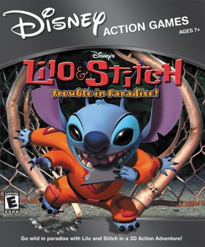 Amazon Com Lilo Stitch Trouble Pc Mac Video Games