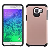 Galaxy A5 2016 Case, NageBee - Heavy Duty Defender Dual Layer Protector Hybrid Phone Case for Samsung Galaxy A5 (2016) (Hybrid Rose Gold)