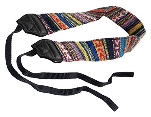 Bluecell LC-006A Multi Color Digital SLR Camera/Camcorder Neck Shoulder Straps Belt
