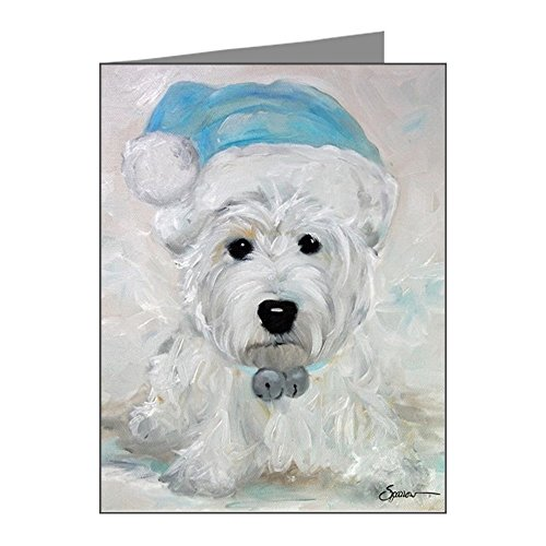 CafePress - Tarheel Santa - Blank Note Cards (Pack of 20) Glossy