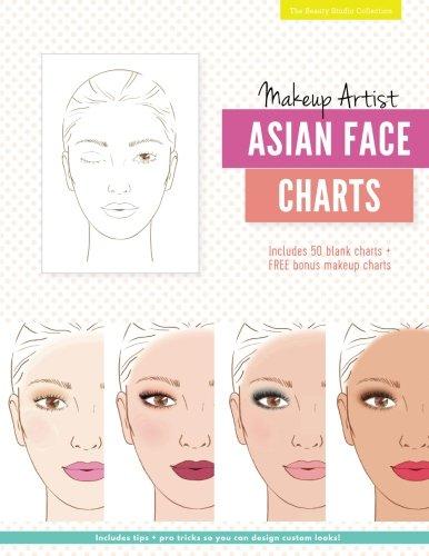 Makeup Artist Asian Face Charts (The Beauty Studio - Chart Face Asian