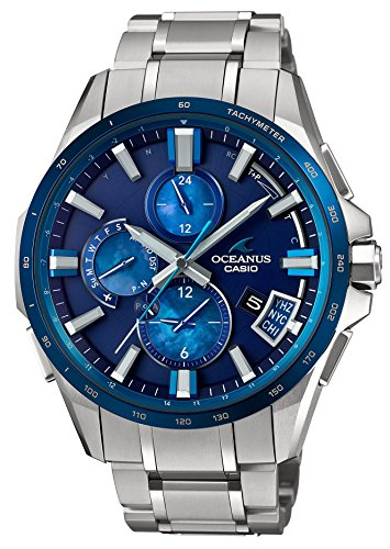 CASIO OCEANUS Smart Access OCEAN BLUE OCW-G2000F-2AJF MENS MADE IN JAPAN