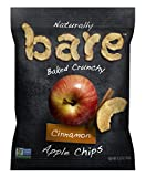 Bare Baked Crunchy Apple Chips, Cinnamon, Gluten Free, 0.53 Ounce Bag,...
