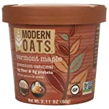 Modern Oats Vermont Maple Oatmeal, 2.11 Ounce - 12 per case.
