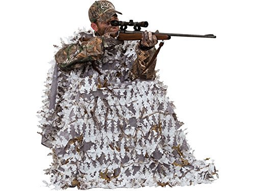 Ameristep Snow Hunter 3-D Chair and 3-D Cover System, Realtree APS