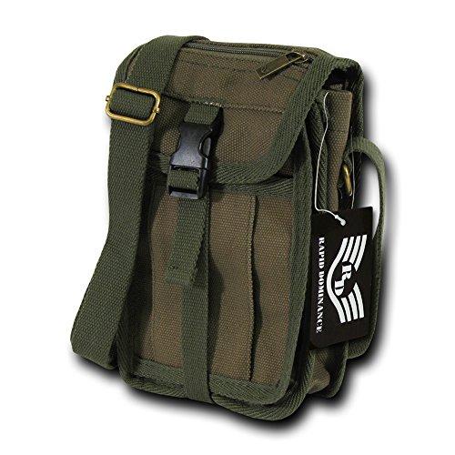 (Rapiddominance Travel Portfolio Bag, Olive)