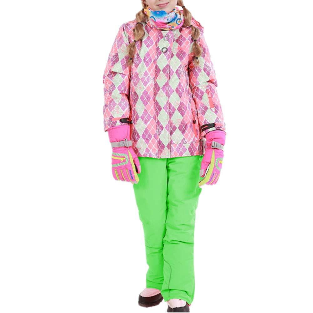 Wagyunfei Wagyunfei Wagyunfei Snowsuit Giacca da Sci Antivento con Cappuccio da Snowsuit, Impermeabile e Caldo, con 2 Pantaloni Ragazzi Ragazze e Bambini (Coloreee   Giallo, Dimensione   158 164)B07L94NPM2116 122 verde | Autentico  | Garanzia autentica  | In Linea Outlet S 2c695d
