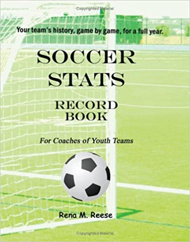 Book Soccer Stats Record Book For Coaches Of Youth Teams: Your Team's History, Game By Game.