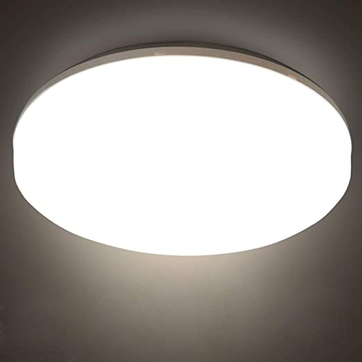 Bathroom Lights Ceiling Led 12w 22cm 4000k Nature White Fitting Indoor Lamp For Bathroom Kitchen Bedroom Hallway Corridor Balcony Living Room Amazon Co Uk Lighting