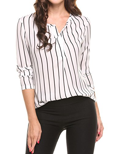 ANGVNS Casual Sleeve Printed Business