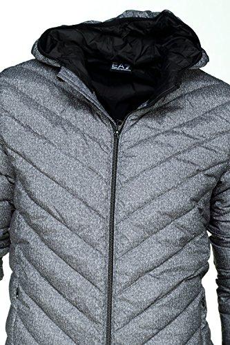 cazadoras chapucha nuevo gris hombre chaqueta Emporio de Armani EA7 plumíferos FqpAPp