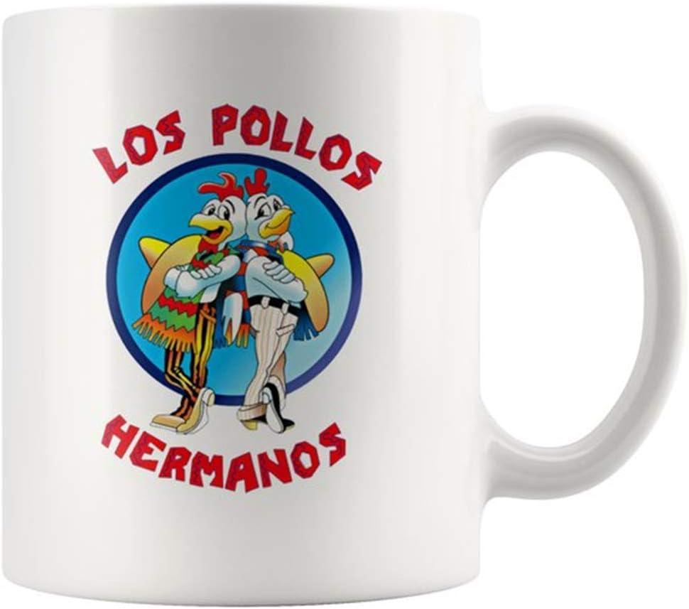 Taza de caf/é con texto en ingl/és Los Pollos Hermanos