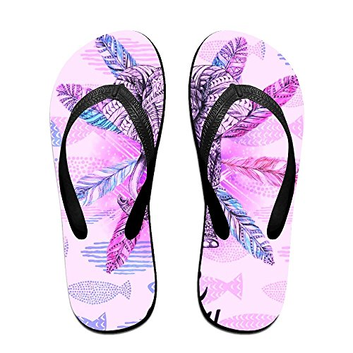 Black Kids PTJHKET Crazy Flip Be For Flops Men Slippers Women HxaqwBzS4x