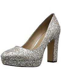 Amazon Brand - The Fix Women's Brooke High-Heel Platform Dress Pump