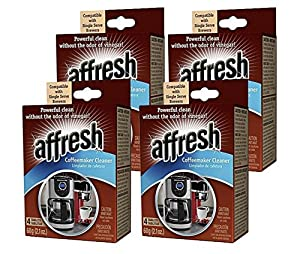 4 Pack of Affresh Coffee Maker Cleaner