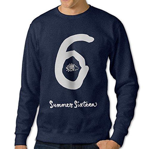 [U9 Men's View 6 Logo Crew-Neck Sweater] (Grumpy Cat Costume Ideas)