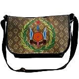 Lov6eoorheeb Unisex Coat Of Arms Of Djibouti Wide Diagonal Shoulder Bag Adjustable Shoulder Tote Bag Single Shoulder Backpack For Work,School,Daily