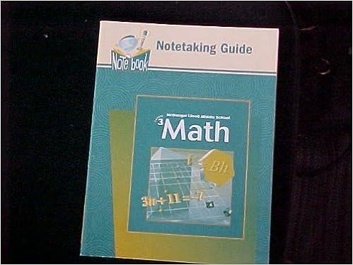 McDougal Littell Middle School Math, Course 3: Practice Workbook ...