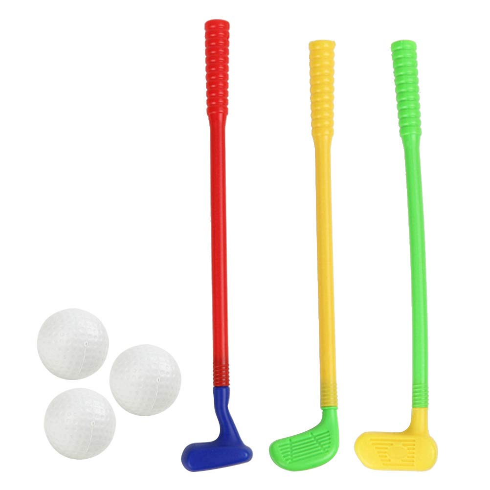 Amazon.com: Toyvian Children Kids Plastic Golf Toys Mini ...