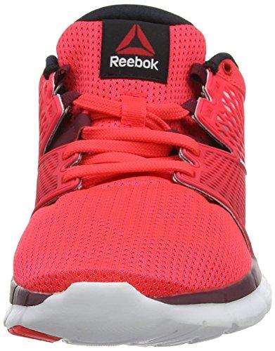 Reebok ReebokZquick Dash - Zapatillas de correr mujer rosa - Pink (Neon Cherry/Rustic Wine/White)