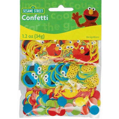 Sesame Street 1st Birthday Paper Confetti