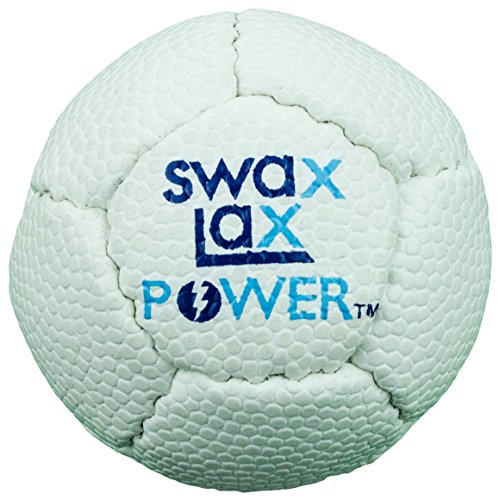 SWAX LAX Power Weighted Lacrosse Training Ball 12 Percent Heavier (White)