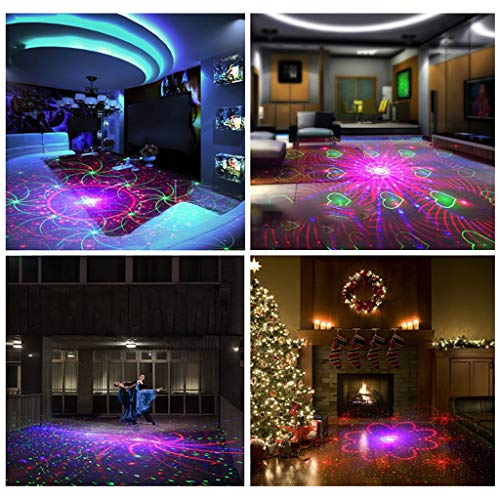 ️ Yu2d ❤️❤️ ️New 12W LED 120 Pattern Stage Light BAR KTV Ballroom Disco Projection Lamp