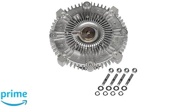 Cooling Fan Clutch for Toyota 4Runner 2003-2009 Tacoma 2005-2015 Tundra 2005-2011 FJ Cruiser 2007-2009 4.0L 1GRFE