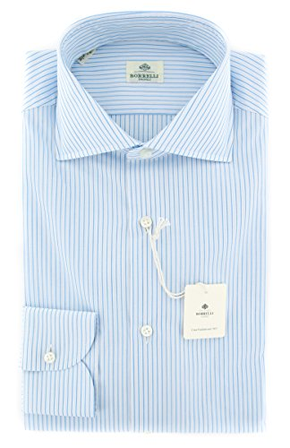 new-luigi-borrelli-light-blue-striped-extra-slim-shirt