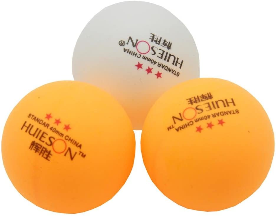 Practice ping-pong BenSports 30-pack 50-pack 100-pack 3-Star 40mm Table Tennis Balls,Advanced Training Ping Pong Ball
