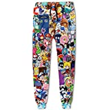 Fashion Unisex Brand Trousers Cartoon 3D Print Unisex Hip Hop Casual Pants