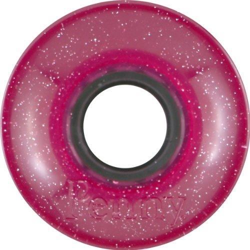 尾音声ファイルPenny 4-Set Sparkles Skateboard Wheels, Pink, 59mm by Penny