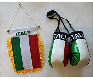 Italy - Boxing Glove and Window Hanger Combo