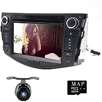 7 3G BT iPod GPS Car DVD Player Radio For Toyota RAV4 2006 2007 2008 2009 2010 2011 2012+Camera