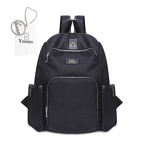 c0bfd4504a62 Yoome Nylon Waterproof Backpack Bag - Top Handle Rucksack Lightweight  Durable Casual School Bag  Amazon.ca  Shoes   Handbags