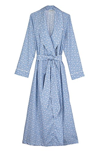 The-Irish-Linen-Store-Kiera-Classic-Cotton-Mosiac-Azure-Dressing-Gown