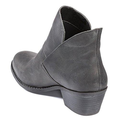Me Too Womens Zale Boot Blackpull Up Calf 9jo39AM5TT