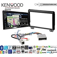 Volunteer Audio Kenwood DNX574S Double Din Radio Install Kit with GPS Navigation Apple CarPlay Android Auto Fits 2004-2006 Ford Expedition, Lincoln Navigator