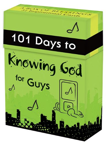 101 Days to Knowing God for Guys Cards (Boxes of Blessing) PDF ePub fb2 ebook